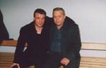 Геннадий Жаров и Александр Дюмин