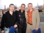Сергей Аристов, Олег Андрианов, Анатолий Грабежов