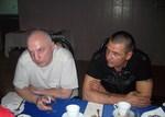 Владимир Окунев и Олег Андрианов