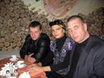 Алексей, Анна Ниткина и Олег Андрианов