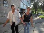 Денис Стрельцов и Анжела