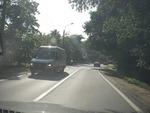 по дороге в Комарово из окна автомобиля
