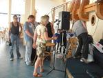 подготовка к концерту - рабочий процесс