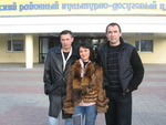 с Аней Воробей и Ильдаром Южным