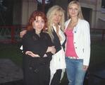 С Таней Тишинской и Инной Кавериной