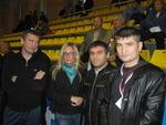Г. Хлобыстин и П. Ростов с друзьями