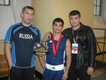 Г. Хлобыстин, И. Каюмов и П. Ростов