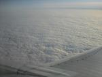 на высоте 9100 м