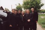 на похоронах Михаила Круга, фото: Евгения Гиршева