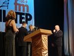 приз вручается вэб-мастеру Музея шансона Погожеву Сергею Владимировичу
