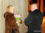 """Есения и В. С. Окунев.Фестиваль """"6 лет Музею шансона"""" Санкт-Петербург 6.02.2010 г."""