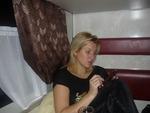 Светлана Питерская в поезде на г. Тында