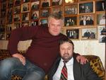 Саша Адмирал и Алексей Созонов в Музее шансона