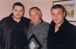А. Звинцов, В. Окунев и А. Дюмин