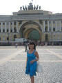 на Дворцовой плащади в С. Петербурге 16.07.2010 г.