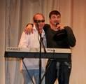 Олег Пахомов с Виктором Калиной