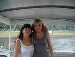 Екатерина Голицына и Оля Вольная - июнь 2010 г.