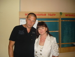 Оля Вольная и Олег Андрианов