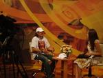 А. Панчик - интервью перед открытием фестиваля