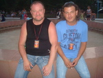 Андрей Жайворонков и Виталий Казначеев