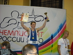 Чемпион России в весовой категории до 60 кг - Ильдар Ваганов (Санкт-Петербург)