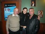 с Илоной Тюминой и В. Окуневым в Санкт-Петербурге 8.10.2010 г.