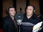 с Александром Антимировым в студии