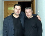 Анатолий Корж и Александр Дюмин