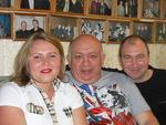 с Любой Покровской и Зиновием Бельским в Музее шансона 21.05.2011 г.