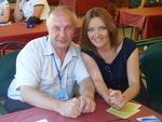 Владимир Степанович Окунев и Таня Дяченко