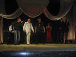 В. Шипицын, П. Павлецов, А. Свищёв, И. Герц (финальный выход с гостями мероприятия)