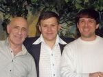 Михаил Загот, Юрий и Влад Павлецов