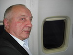в этот момент пролетаем над Петрозаводском