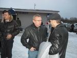 Сергей Пономарёв, Владимир Двинской, Павел Ростов в аэропорту Архангельска