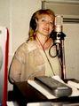 Олеся Атланова за микрофоном