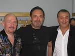 Жека (Евгений Григорьев), Гарик Кричевский и Валерий Курас