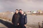 Леонид Азбель, Сергей Ахунский, Владимир Окунев, Сочи, 2003 г.