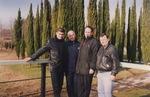 Павел Ростов, Владимир Окунев, Леонид Азбель, Сергей Ахунский, Сочи - 2003 г.