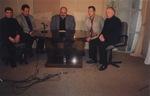 интервью на Сочинском телевидении. Павел Ростов, Леонид Азбель, Сергей Князев, Владимир Окунев - 2003 г.