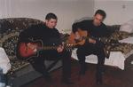 Павел Ростов и Леонид Азбель, Сочи - 2003 г.