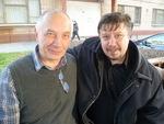 Владимир Окунев и Владимир Стольный. Санкт-Петербург, 18 ноября 2013 г.