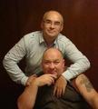 Игорь Кабаргин с братом