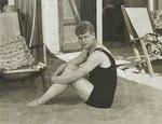 Сергей Есенин на пляже в Лидо, Италия, 1922 г.