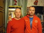 Максим Кравчинский и Владимир Окунев (Музей шансона, 29.06.2014 г.)