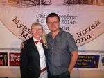 Ольга Оболенская и Николай Орловский