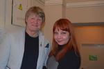 Евгений Куневич (Таллинн, Эстония) и Ирина Окунева (ст. администратор Музея шансона и радио РаШа)