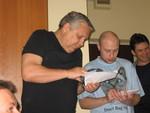 Геннадий Жаров и зам. редактора Антон