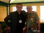 Николай Орловский и Леонид Телешев
