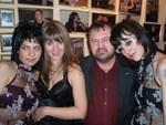 Алексей Созонов и Юлия Огнева с подругами