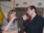 На концерте Дианы Теркуловой. 19.12. 2008 г.